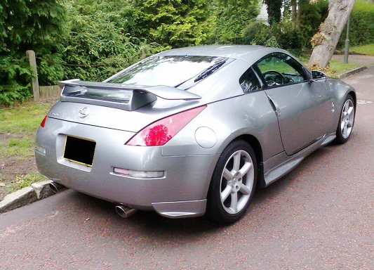 350Z Nismo Version 1 Style Rear Spoiler