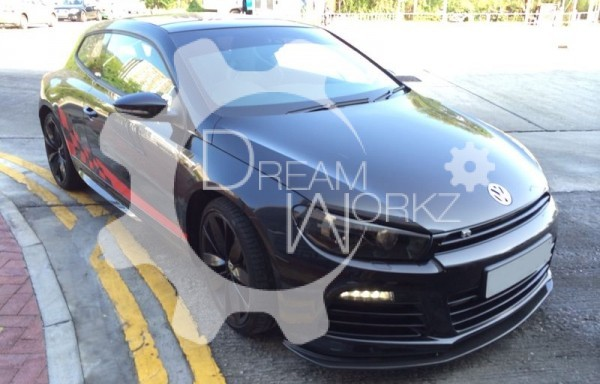Scirocco R Cup Racing Style Front Lip