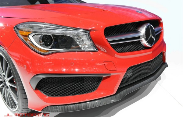 A Class W176 AMG Style Front Bumper Lip Addon