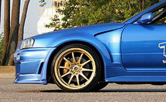 R34 GTR Do-Luck Style Front Fender