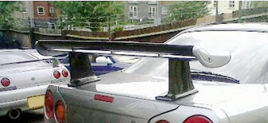 R34 Jun Style High Spoiler Leg
