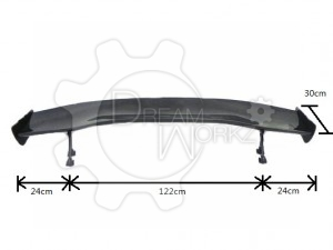 1700mm Carbon GT Spoiler (Blade Width 330mm, Stand Height Only 180cm) (12)