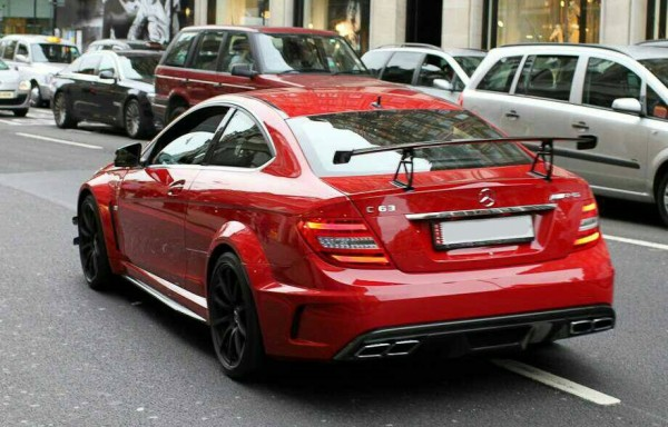 W204 AMG Black Edition Style Spoiler