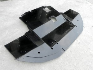 EVO 10 Varis Wide Ver. Front Lip with Diffuser(5)