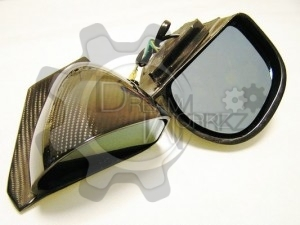EVO 7 8 9 RA Elec Carbon Side Mirror(6)