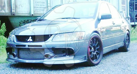 Evo 9 Varis Style Air Duct