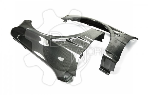 Evo 8 9 Double Vent Front Wide Fender