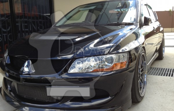 Evo 8 D Style Front Lip