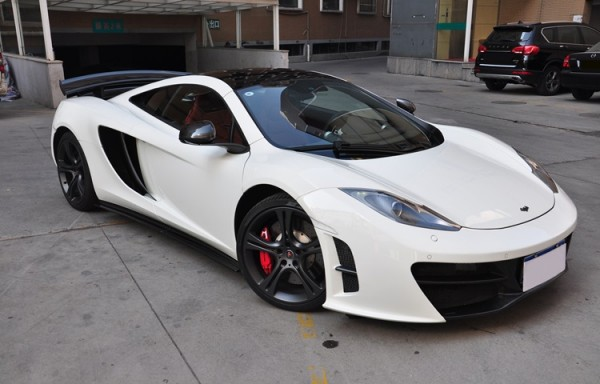 MP4-12C Revo Style Lip Kit