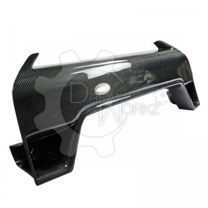 R35 GTR 2012 On front bumper nose cover(2)