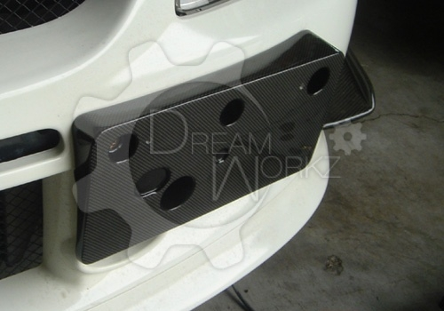 Evo 9 Number Plate Holder
