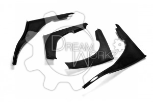 Skyline R32 GTR TBO Front Bumper 4 pcs Canard (Will fit on standard GTR front bumper only) (1)