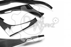 Skyline R32 GTR TBO Front Bumper 4 pcs Canard (Will fit on standard GTR front bumper only) (6)
