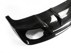 A4 B8 Face-lifted Rieger Style (RS5 Look) Rear diffuser (For S-Line bumper only) (4)