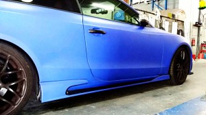 A5 Coupe Pre Face-lifted Tommykaira Style Side Skirt(2)
