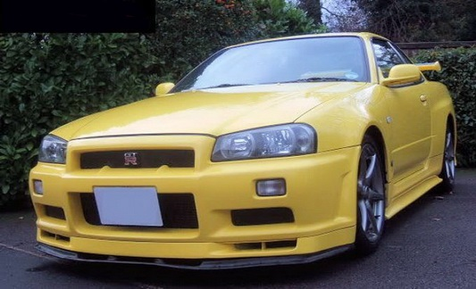 R34 GTR NI Style Under Lip
