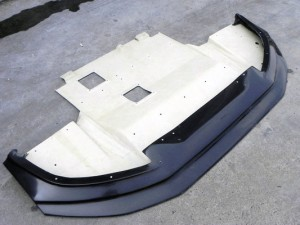 EVO 10 Varis Wide Ver. Front Lip with Diffuser(2)