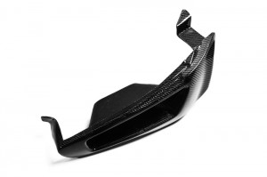 EVO 10 Vented Headlight Block out Panel (LHS) CARBON (10)