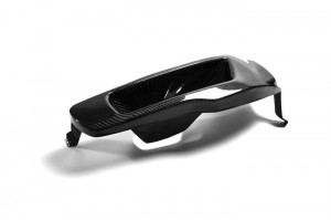EVO 10 Vented Headlight Block out Panel (LHS) CARBON (12)