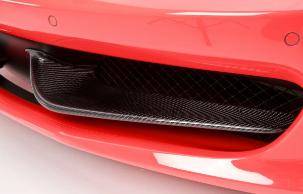 F458 DMC Style Front Bumper Wing Flap