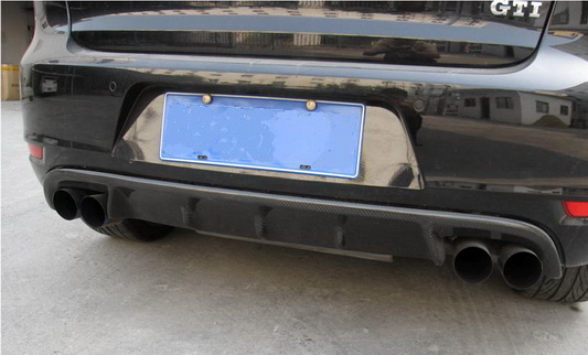 Golf 6 Twin Exhaust Diffuser