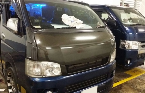 Hiace 200 Vented Front Fender