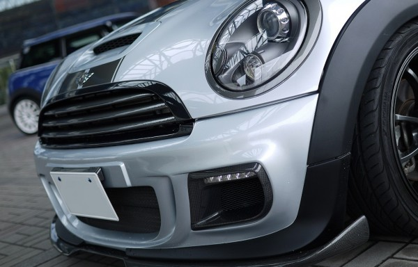 R56 Duell AG Style Front Bumper