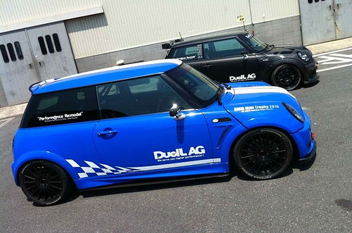 R56 Duell AG Style Side Skirt Extension