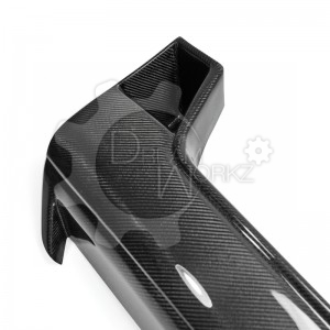 R35 GTR 2012 On front bumper nose cover(10)