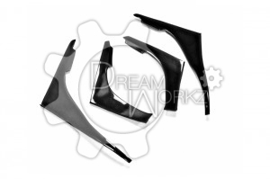 Skyline R32 GTR TBO Front Bumper 4 pcs Canard (Will fit on standard GTR front bumper only) (3)