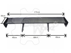 Universal 1700mm DTM GT Wing(12)
