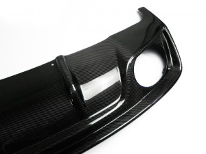 A4 B8 Face-lifted Rieger Style (RS5 Look) Rear diffuser (For S-Line bumper only) (6)